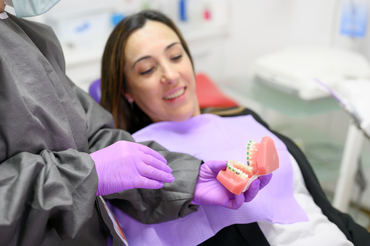 Restauración de dientes